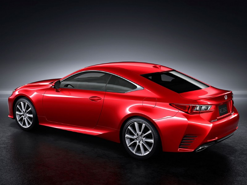 Lexus RC Radical Coupe rood 2015 04