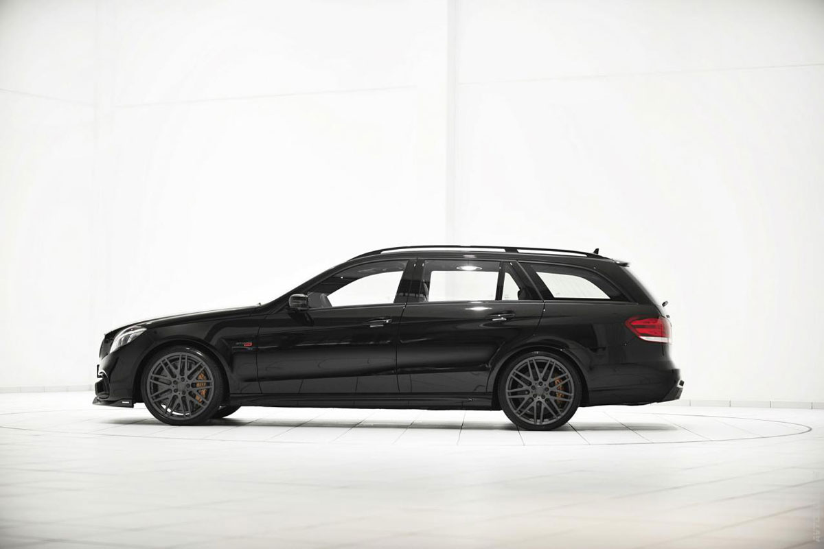Mercedes Brabus E63S 850 6.0 Estate zwart 2014 05