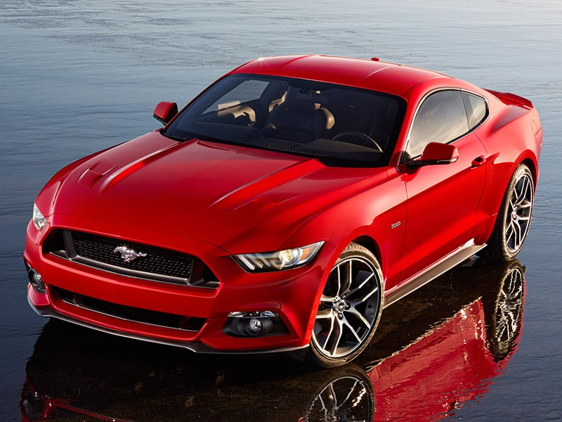 Ford Mustang Europa 2014 2015 rood 14