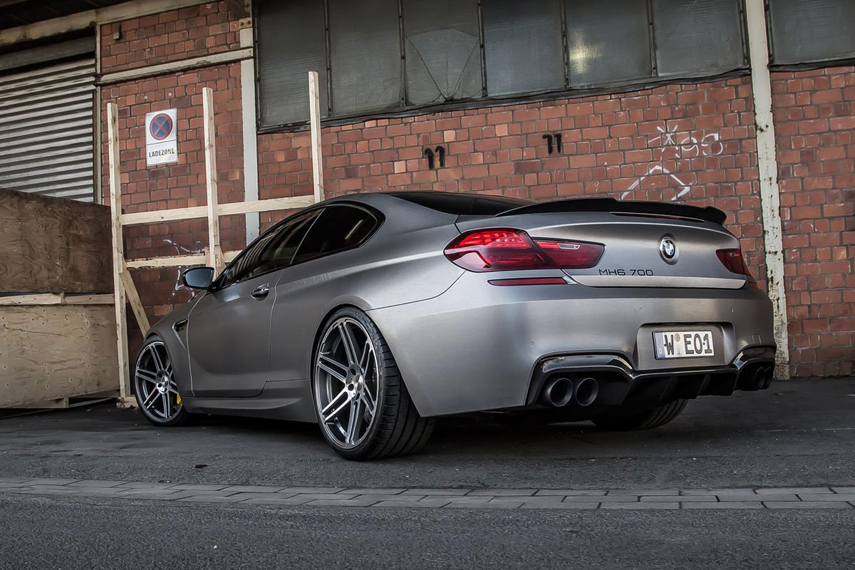 Manhart MH6 700 BMW M6 6-serie coupe 08