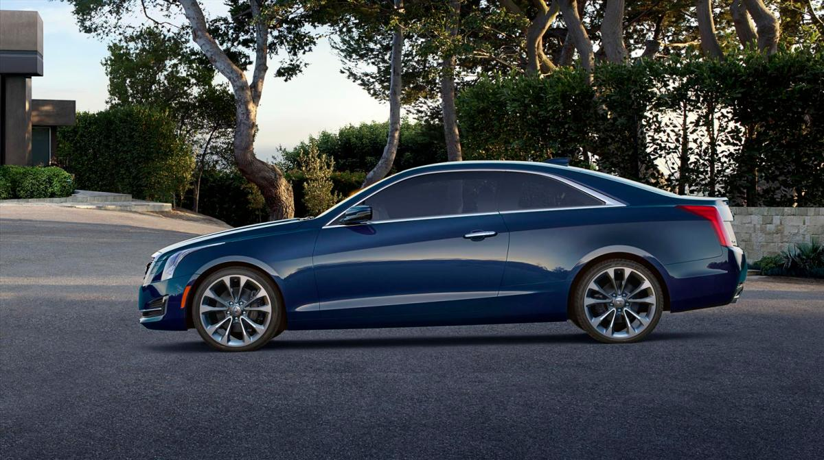 Cadillac ATS Coupe blauw 2014 06