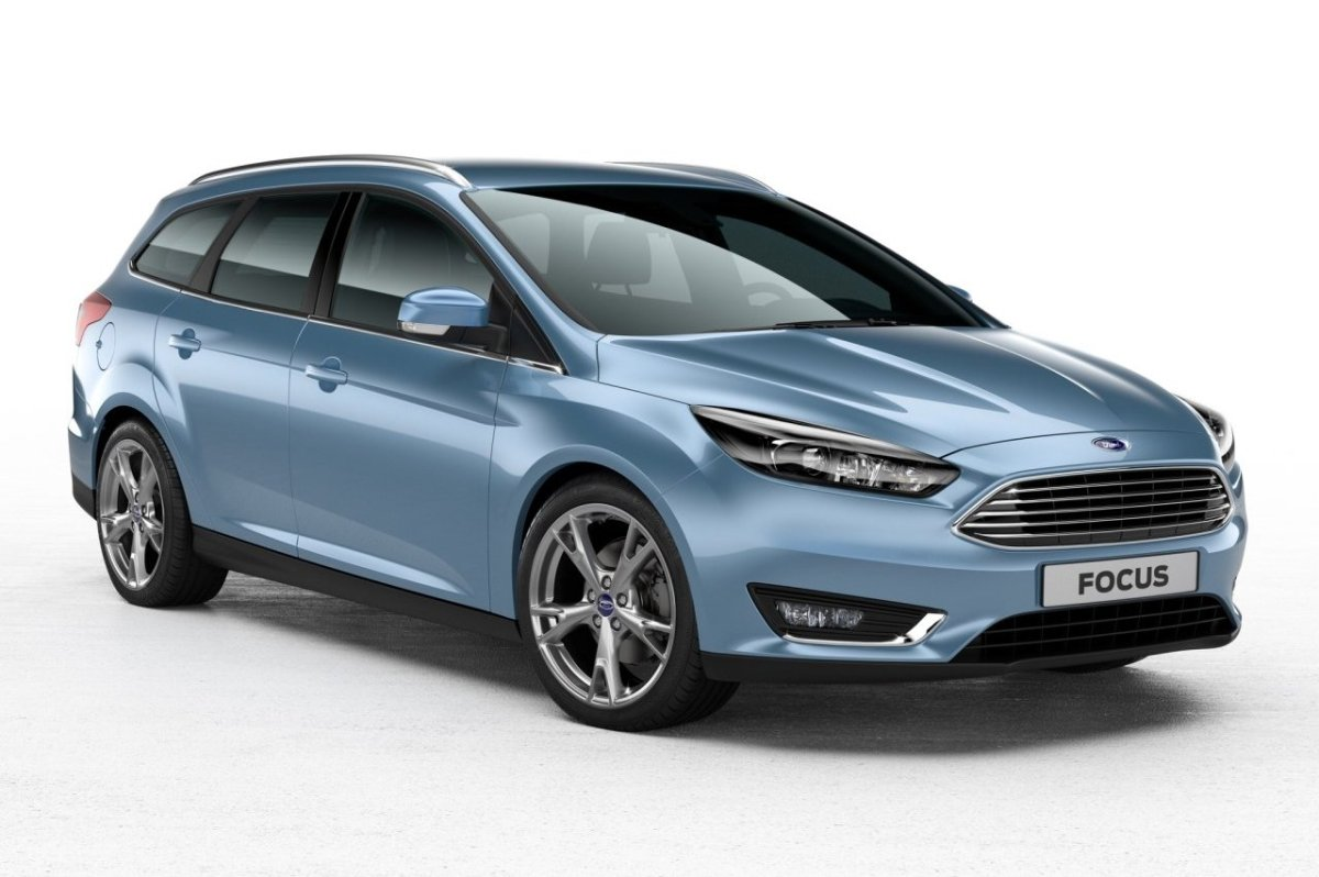 Ford Focus Blauw Zilver Sync facelift 2015 05