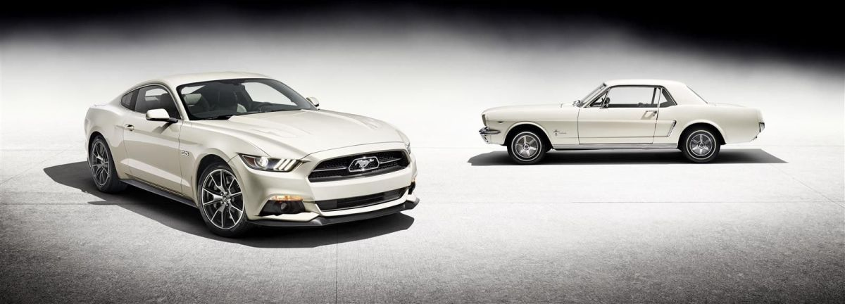 Ford Mustang 50 Year Limited Edition wit Performance Pack 2014 04