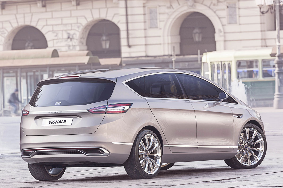 Ford S-Max Concept Vignale Luxe brons 2014 06