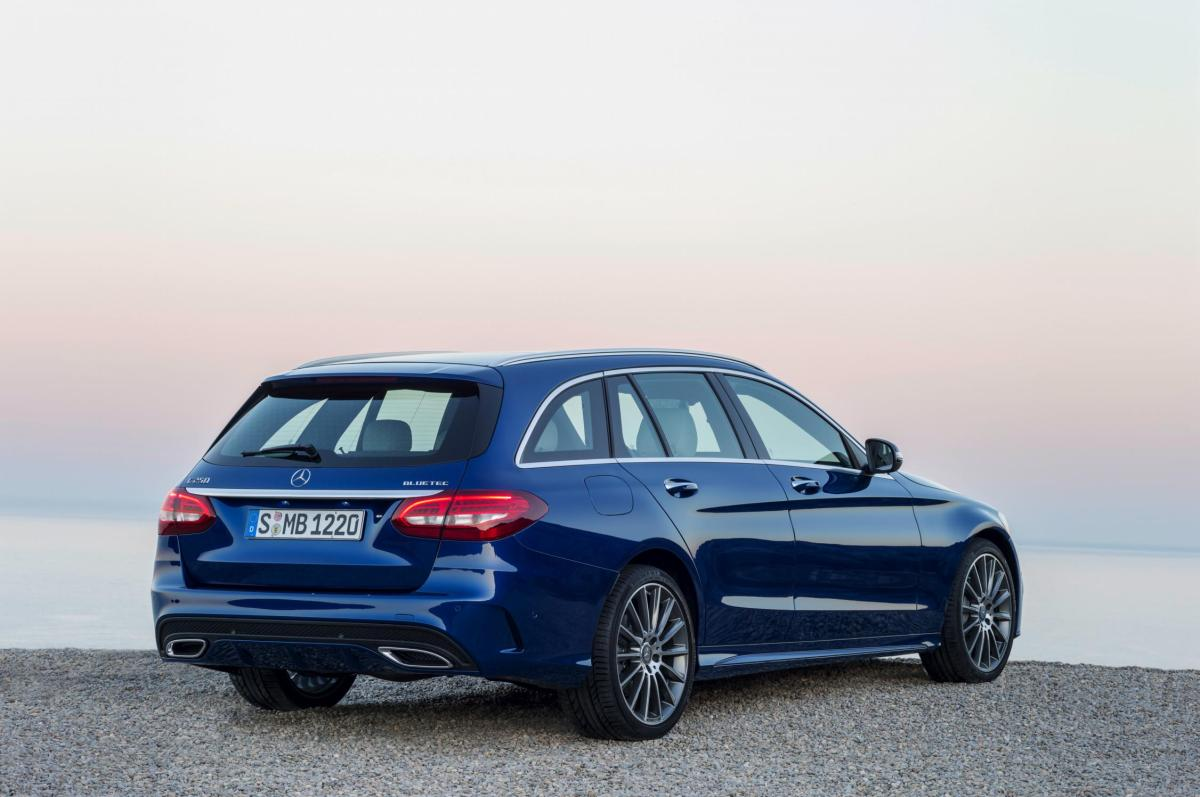 Mercedes C-klasse Estate S205 4-Matic BlueTec 2015 20