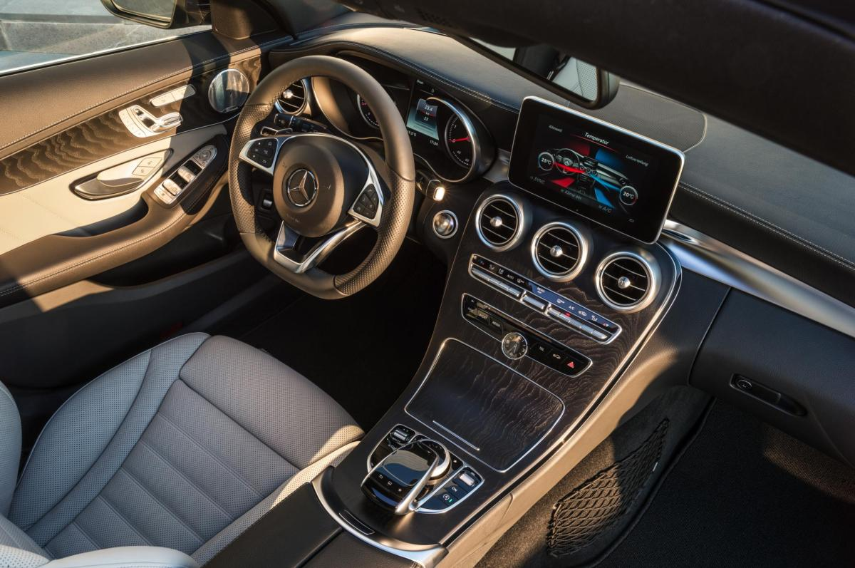 Mercedes C-klasse Estate S205 4-Matic BlueTec 2015 21
