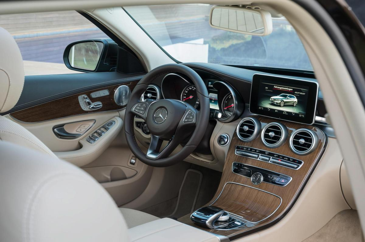Mercedes C-klasse Estate S205 4-Matic BlueTec 2015 37