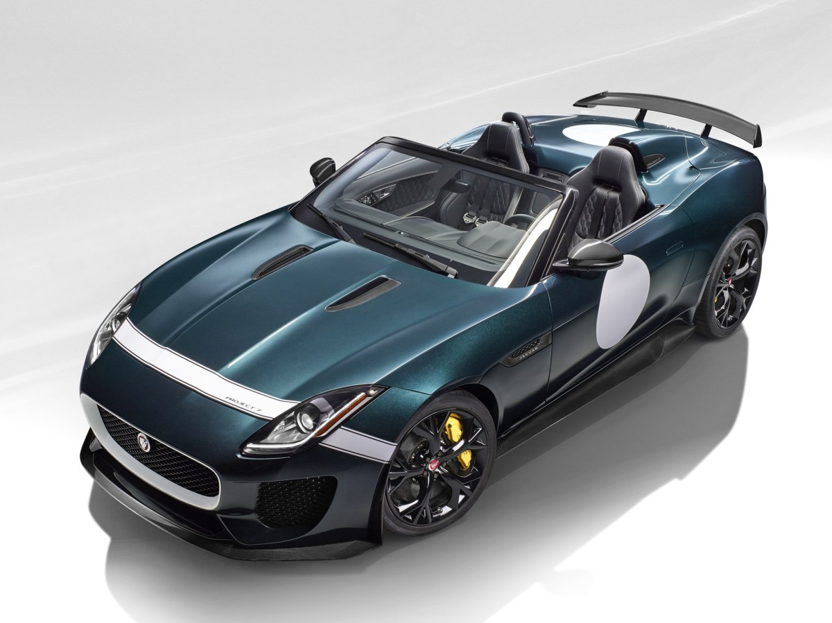 Jaguar F-Type Project 7 British Racing Green Le Mans 2015 04