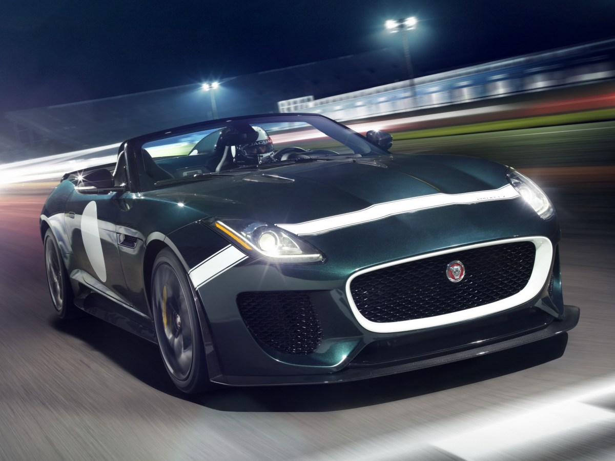 Jaguar F-Type Project 7 British Racing Green Le Mans 2015 11