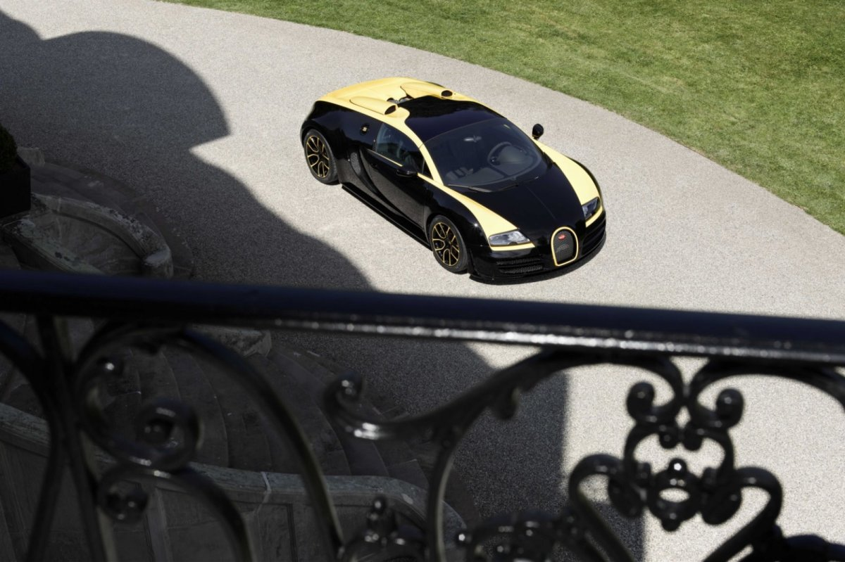 Bugatti Veyron Grand Sport Vitesse One of One 2014 geel Type 35 08