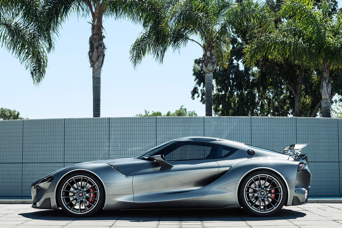 Toyota FT-1 Concept zilver 2014 01