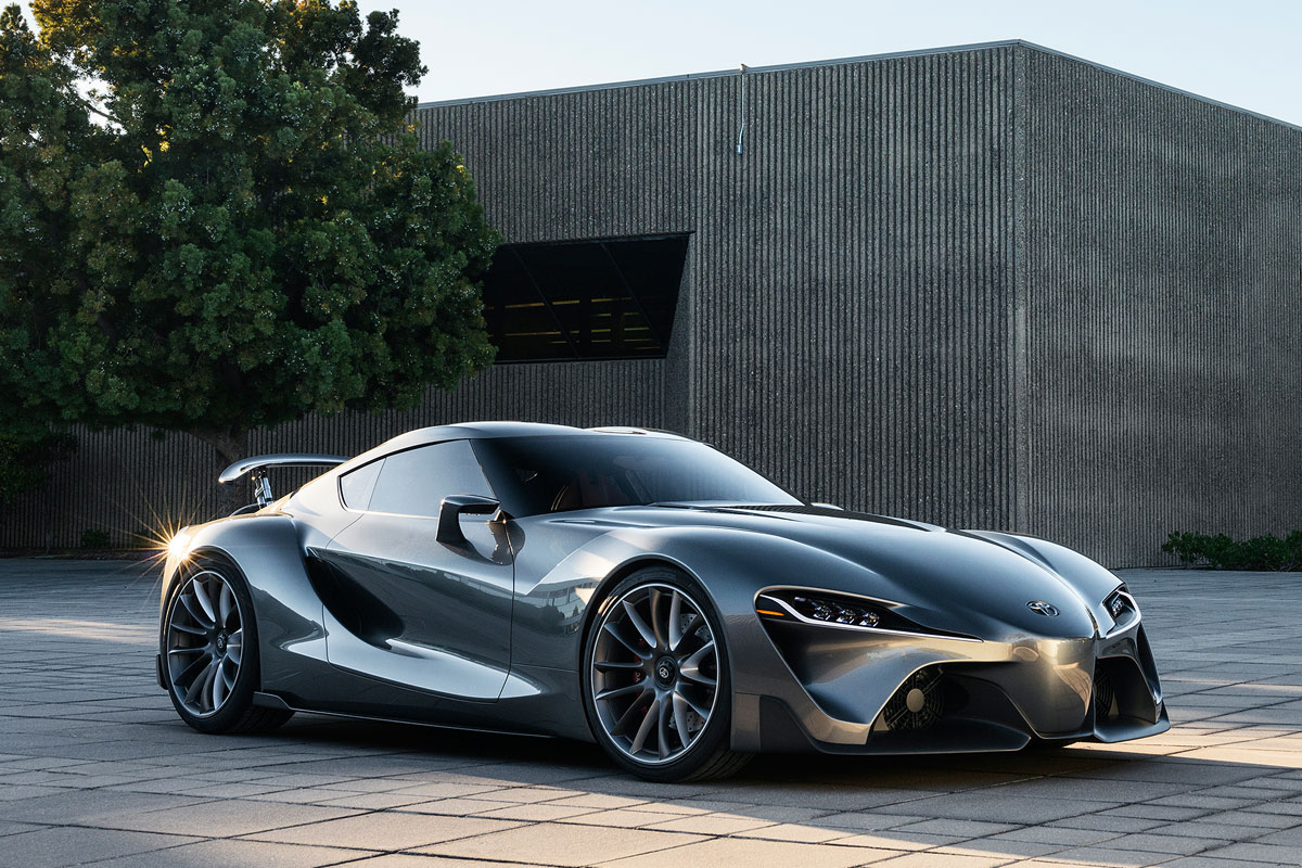 Toyota FT-1 Concept zilver 2014 02