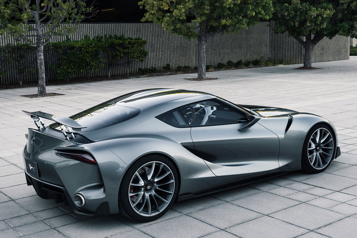 Toyota FT-1 Concept zilver 2014 03