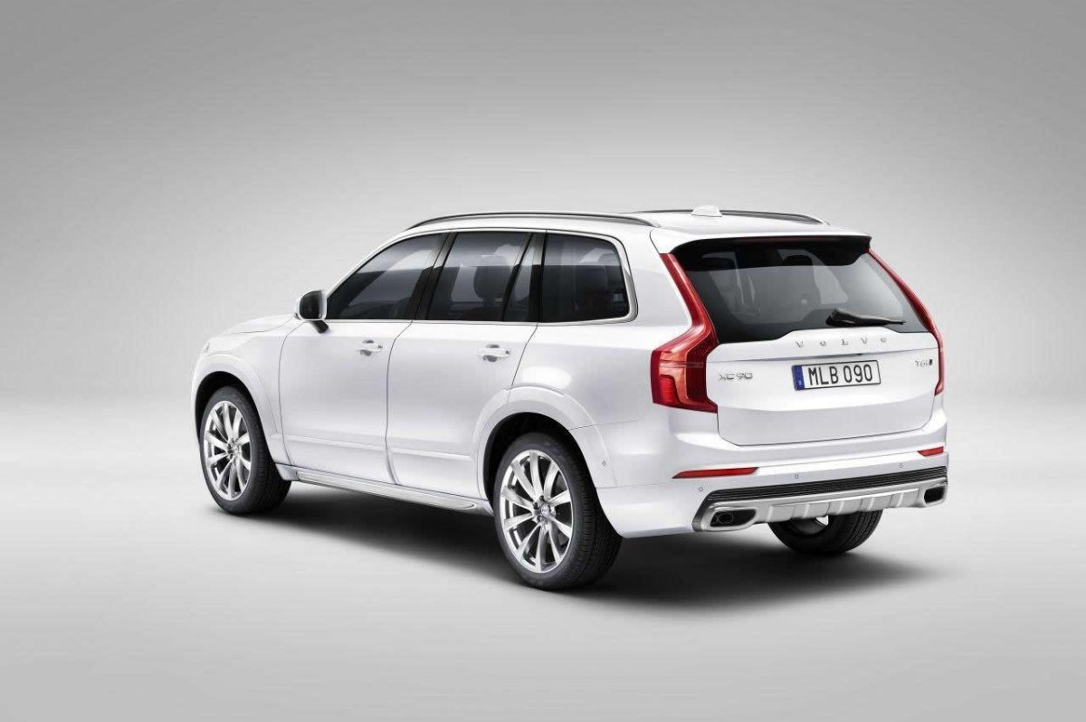 Volvo XC 90 First Edition D5 T6 AWD 1927 2015 brons zwart wit bruin 07