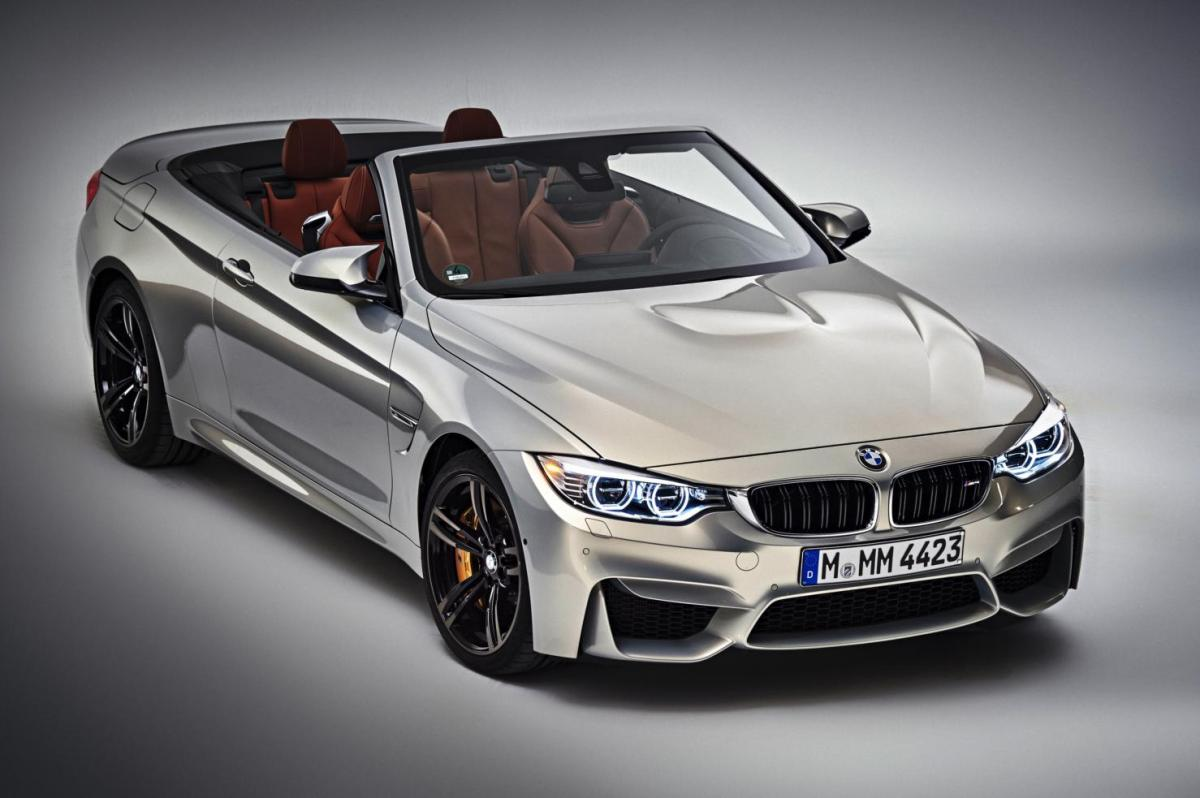 BMW M4 4-serie Cabriolet M-Performance brons zilver 2015 F84 191