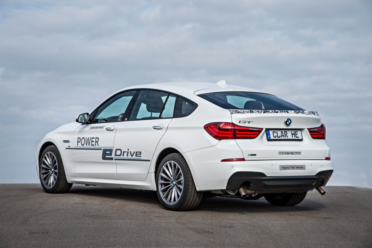 BMW 5-serie GT e-drive Hybride plug-in concept wit 2014 04