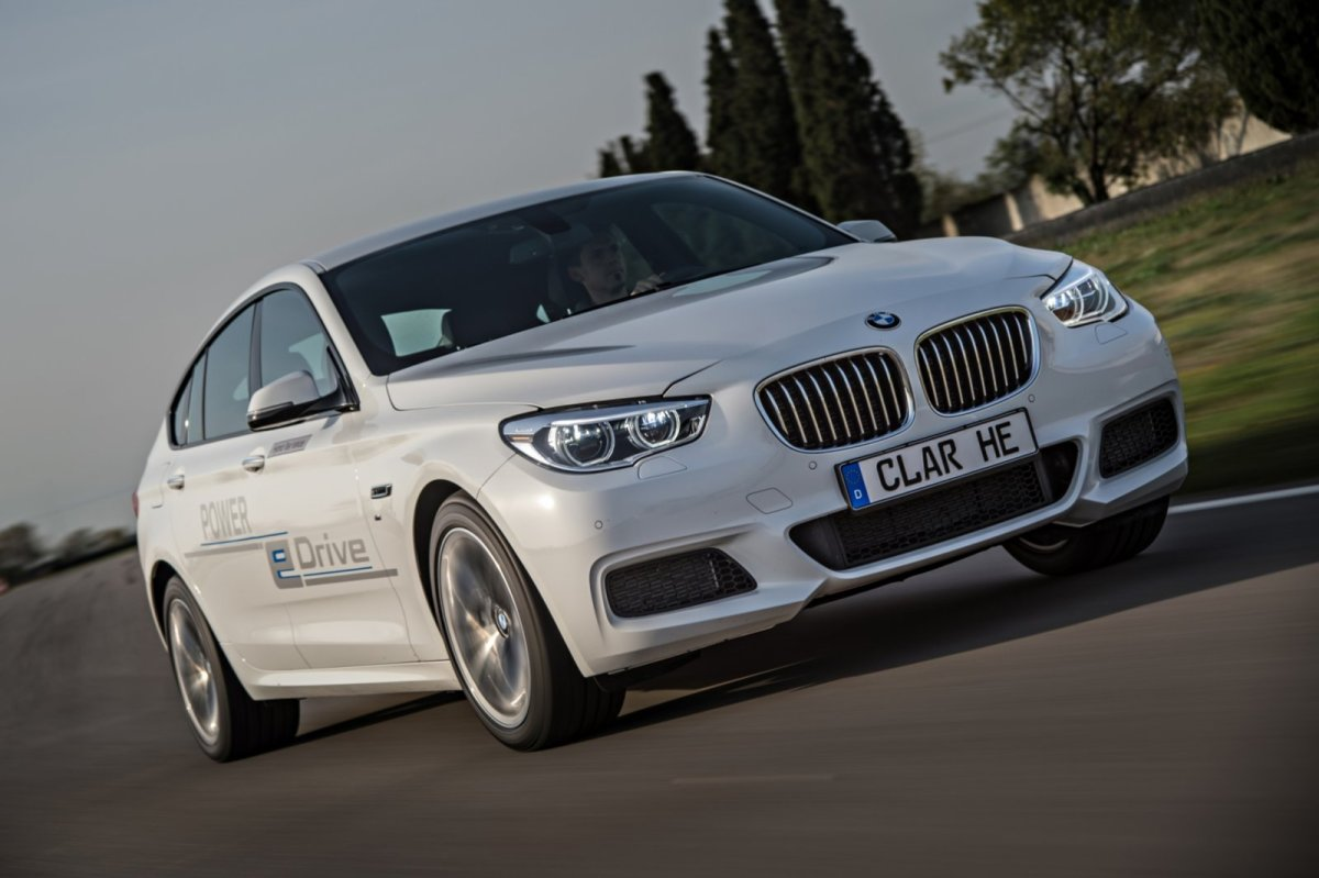 BMW 5-serie GT e-drive Hybride plug-in concept wit 2014 10