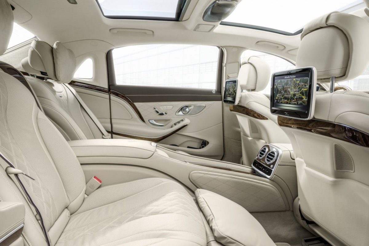 Mercedes Benz Maybach S-klasse S600 V12 Executive Business 20