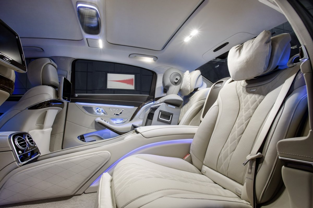 Mercedes Benz Maybach S-klasse S600 V12 Executive Business 33