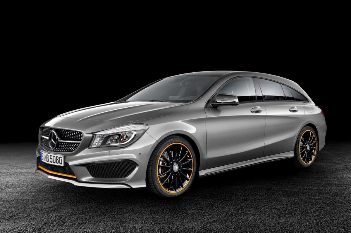 Mercedes CLA Shooting Brake 250 4-Matic AMG line zilver 2015 02
