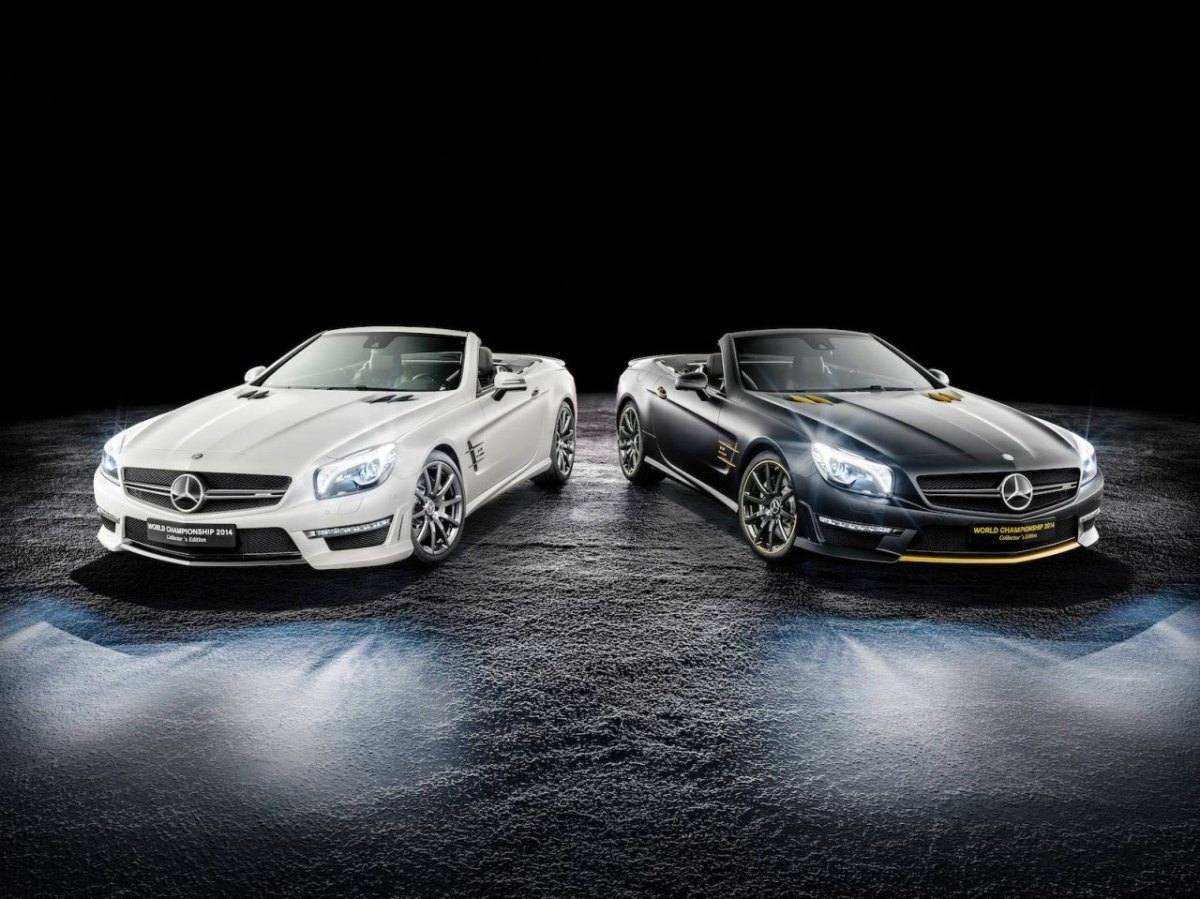 Mercedes SL63-AMG World-Championship Collectors Edition 2014 01