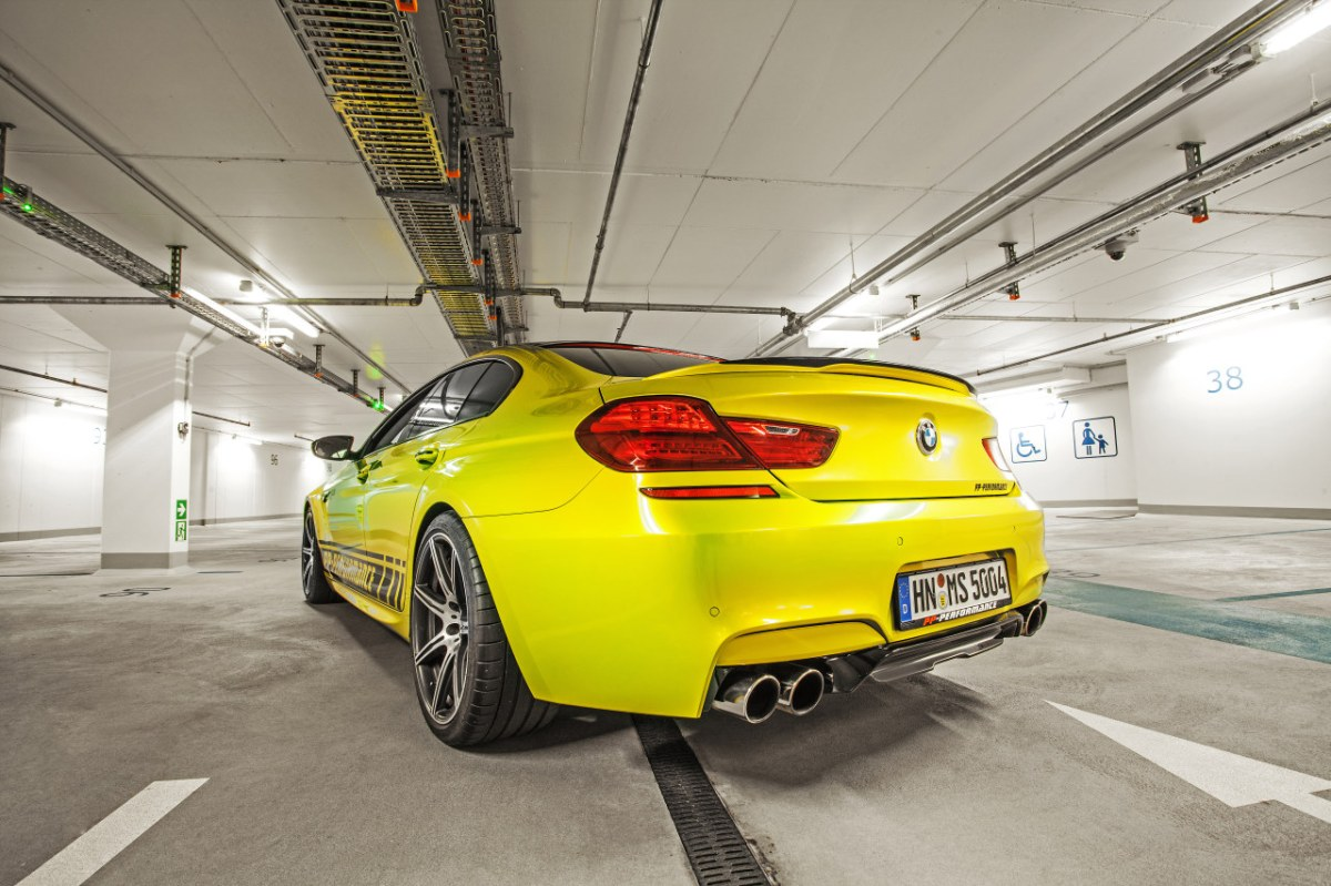 PP-Performance BMW M6 Gran Coupe Electric Lime geel 2014 06