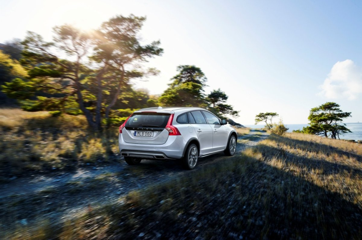 Volvo V60 Cross Country bruin wit AWD Drive-E 2015 09