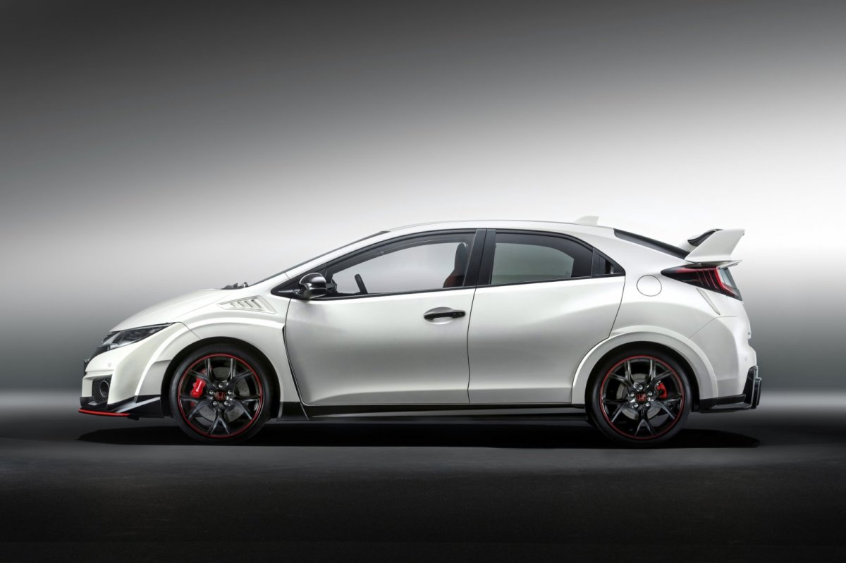 Honda Civic Type R wit ring record nordschleife voorwielaandrijving  2015 13