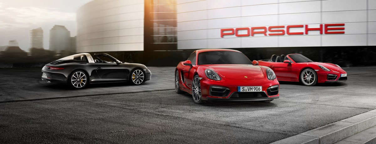 Porsche Showroom dealer