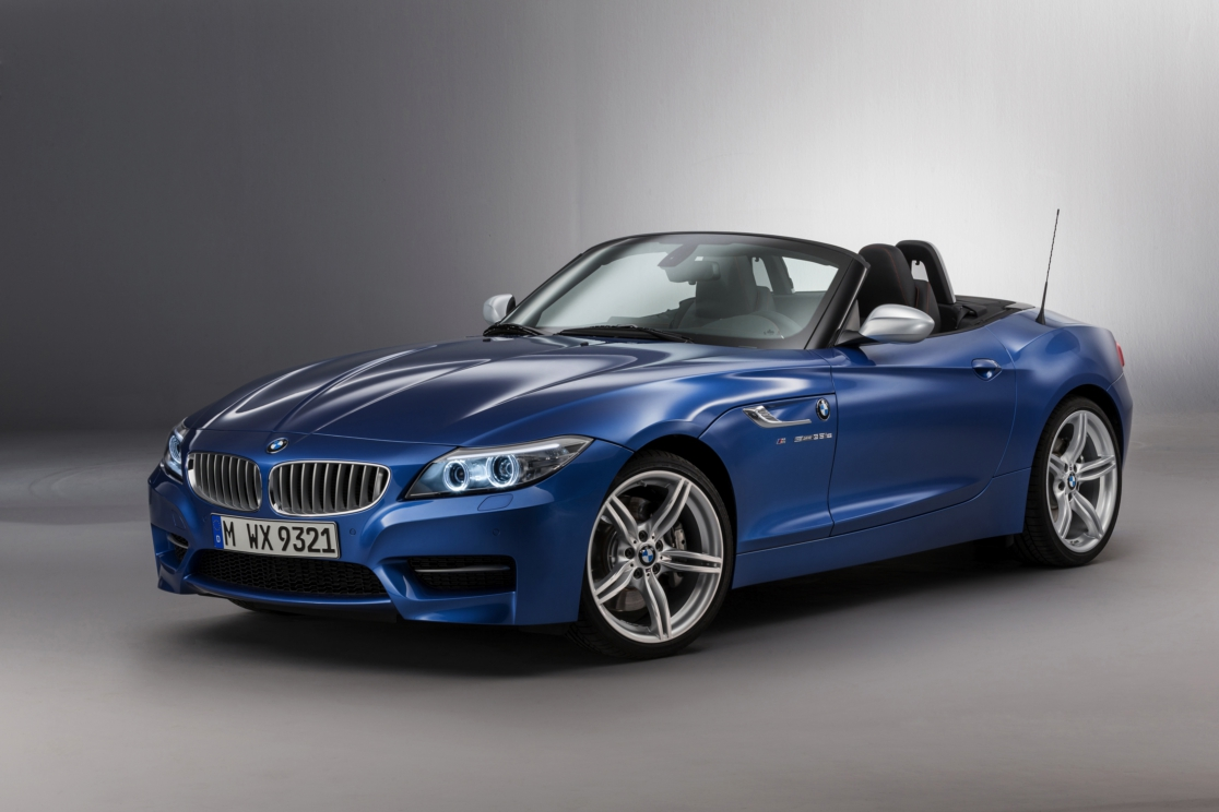 BMW Z4 Roadster Estoril blauw M-pakket 2016 16