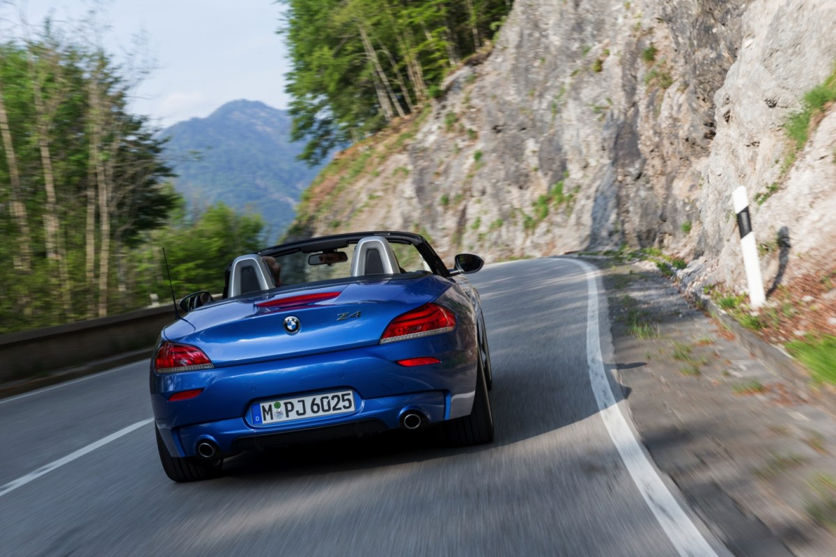 BMW Z4 Roadster Estoril blauw M-pakket 2016 44
