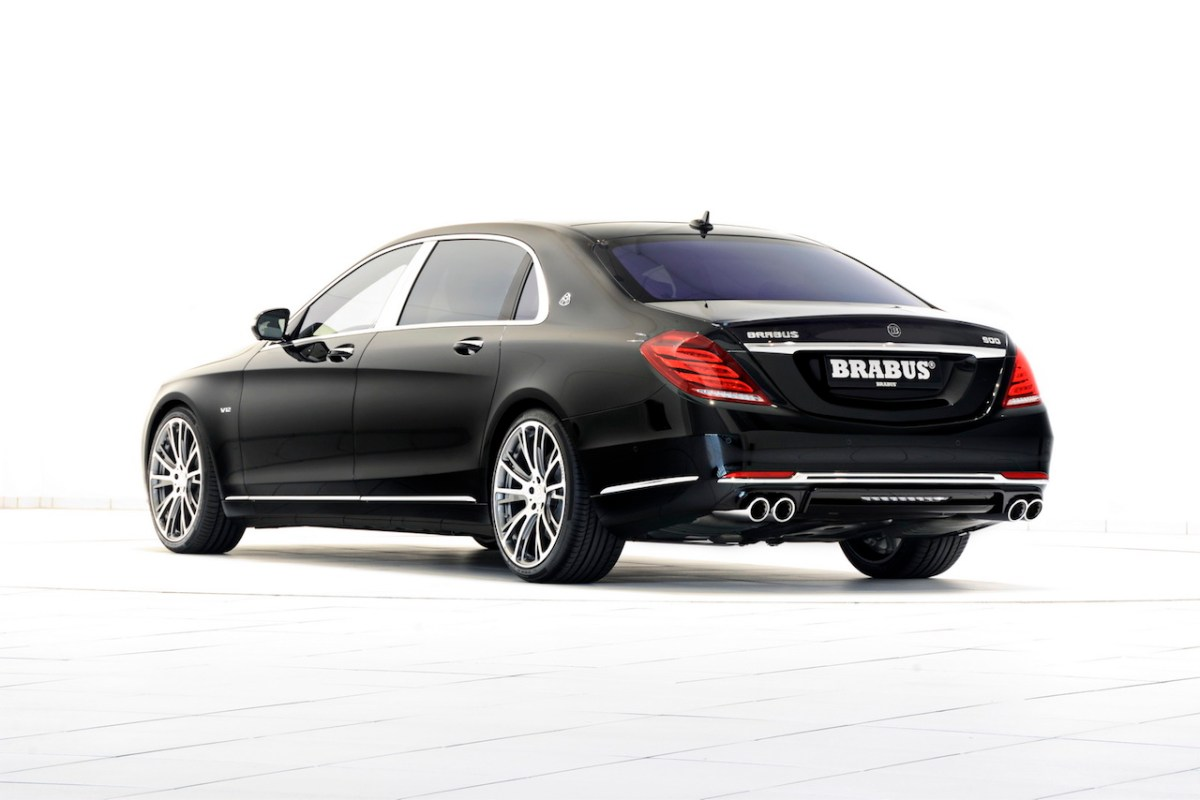 Mercedes S-klasse S600 Maybach Brabus Rocket V12 03