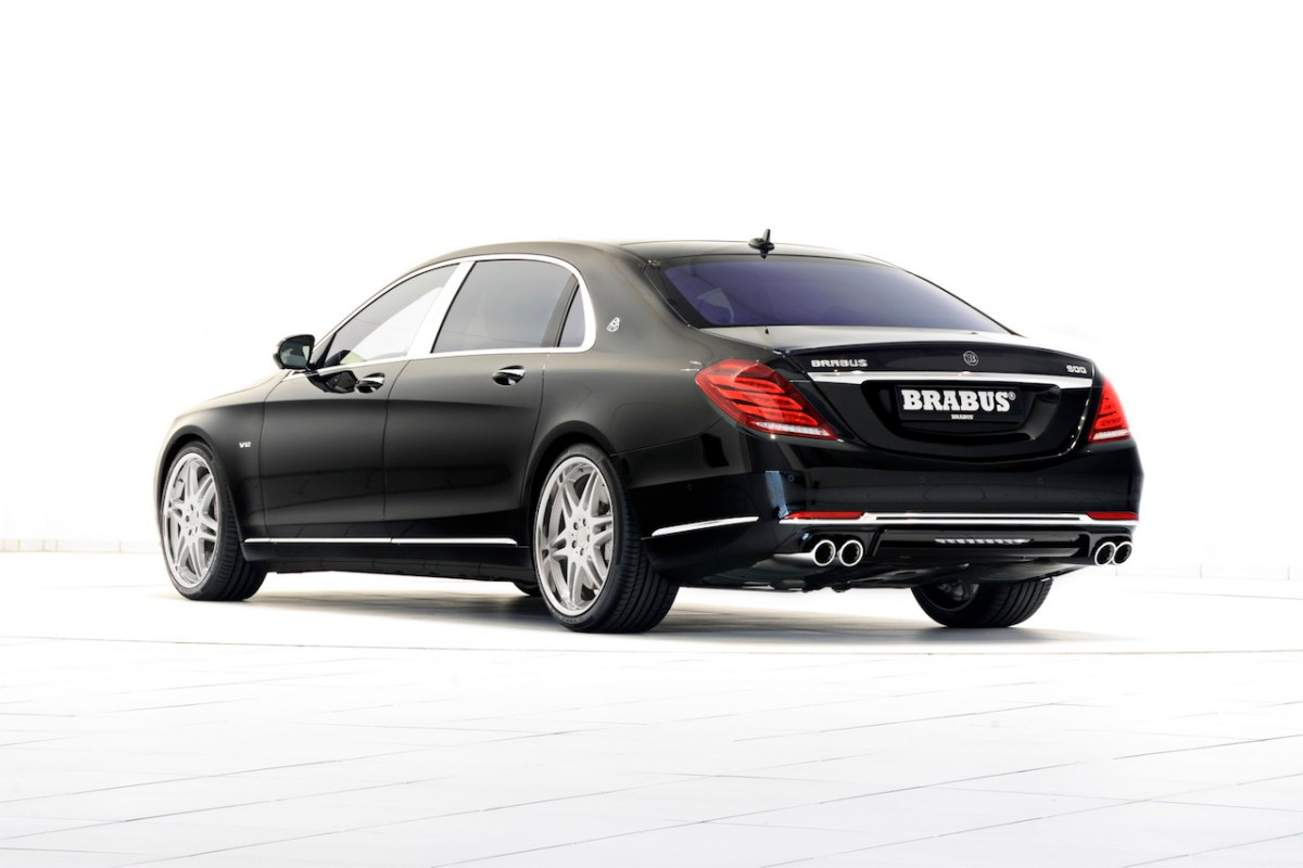 Mercedes S-klasse S600 Maybach Brabus Rocket V12 04
