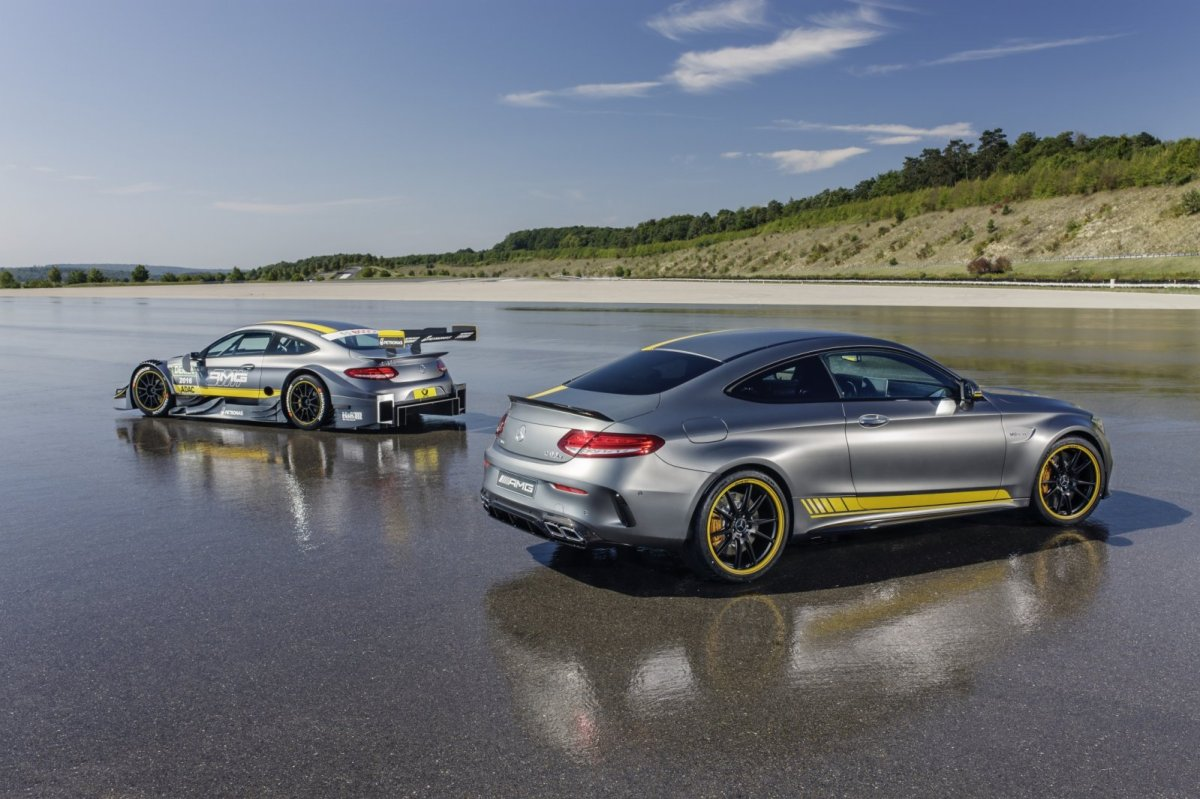 Mercedes C63 AMG Coupe Edition 1 2016 06