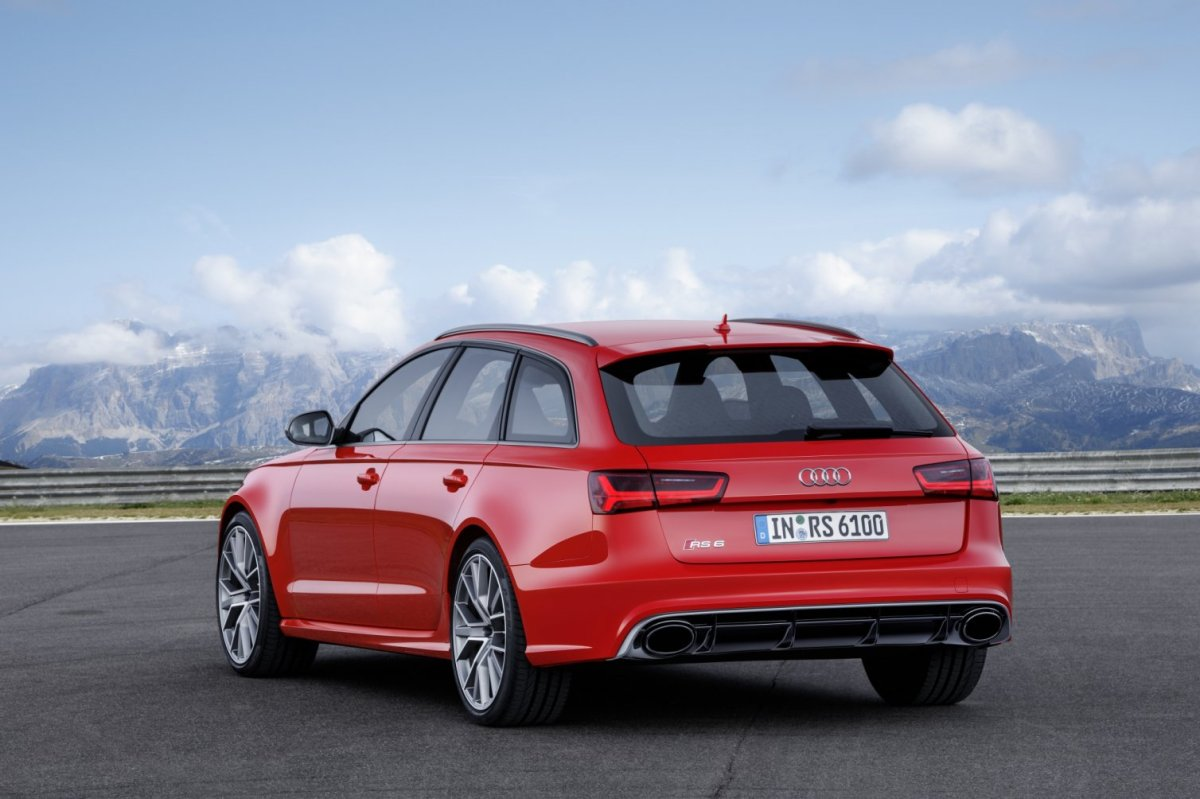 Audi RS6 RS7 Avant Sportback Performance Label Quattro 2016 13