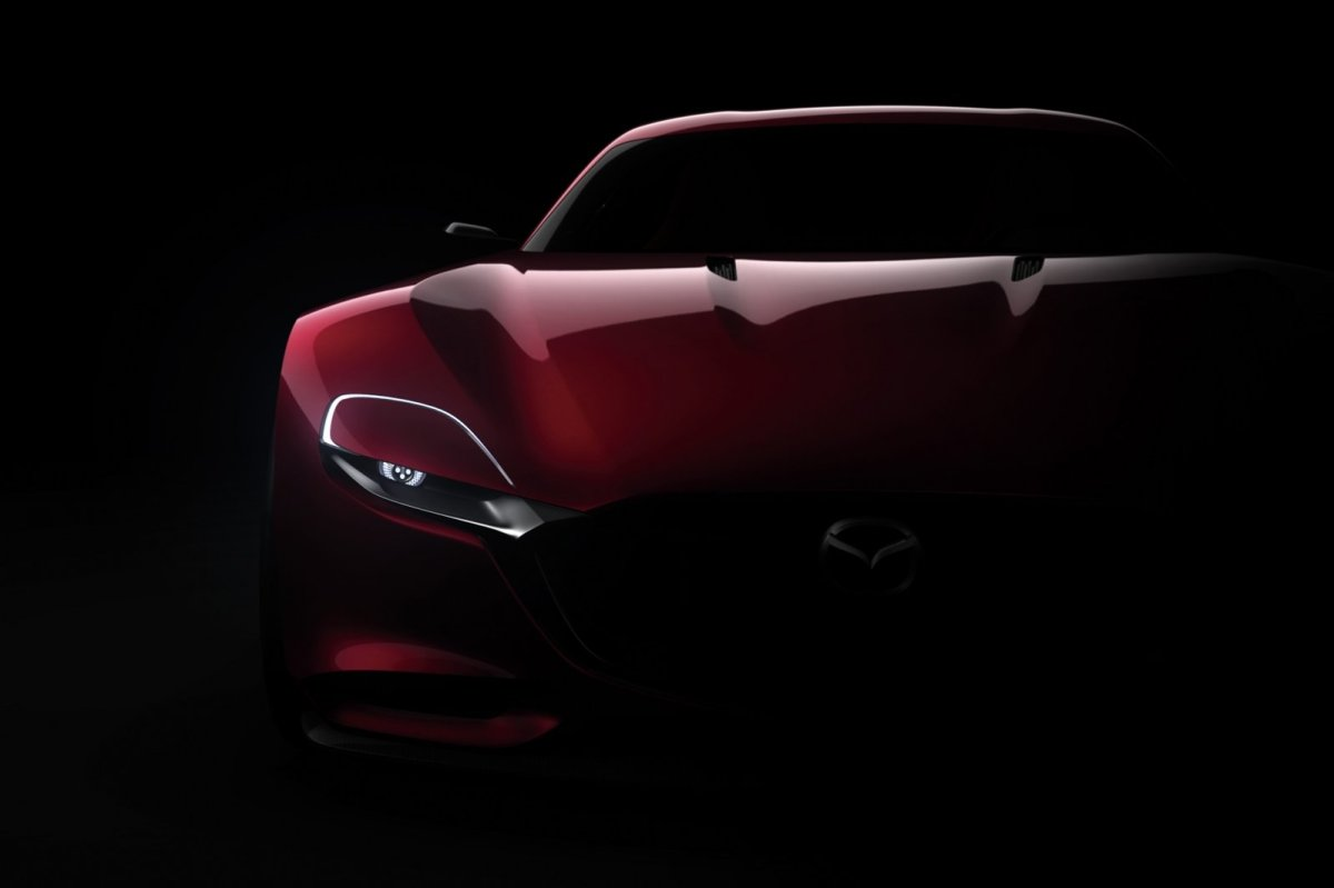 Mazda RX-Vision Wankelmotor Rood Concept Tokio 2015 01