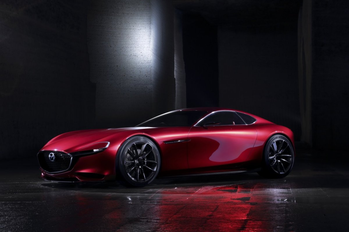 Mazda RX-Vision Wankelmotor Rood Concept Tokio 2015 03