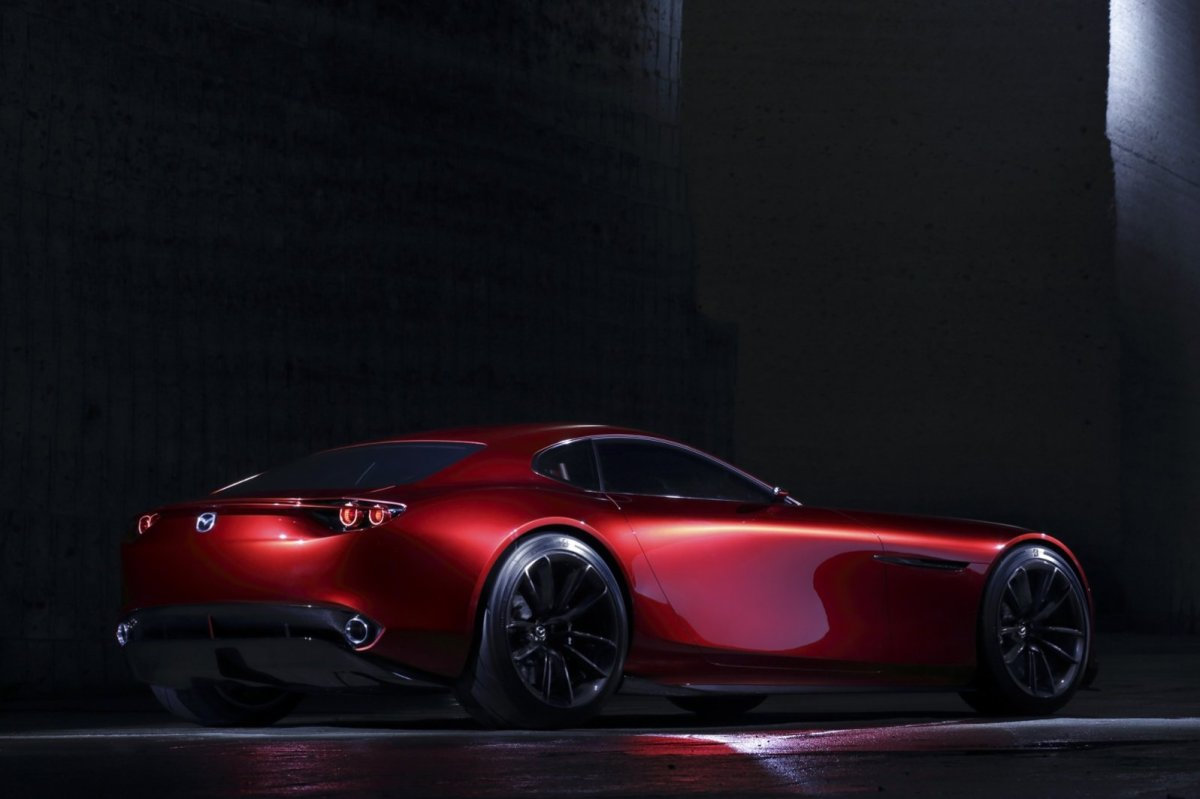 Mazda RX-Vision Wankelmotor Rood Concept Tokio 2015 11