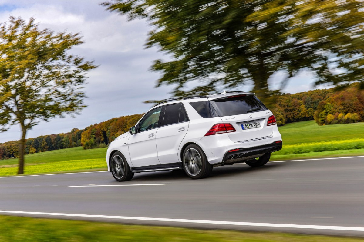 Mercedes GLE450 AMG Sport 4-Matic wit SUV 2016 11