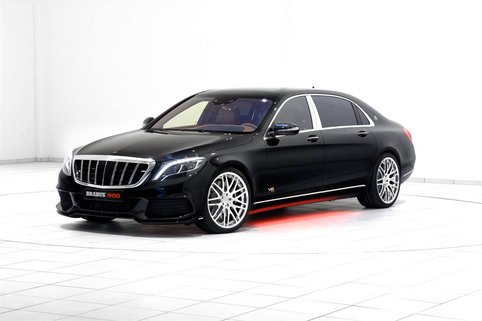 Brabus Mercedes Maybach Rocket 900 facelift zwart 2016 23