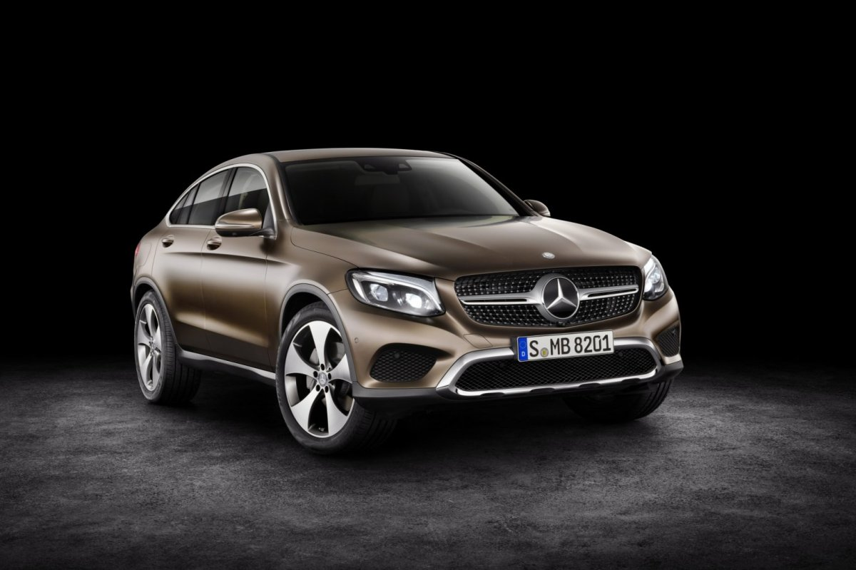 Mercedes GLC Coupe SUV 4-Matic blauw 2017 31