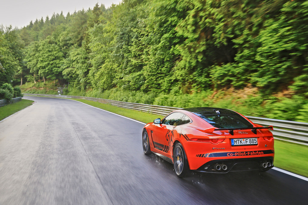Jaguar F-Type SVR Ring-Cat Nuerburgring Nordschleife 11