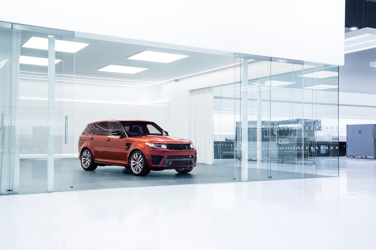 Jaguar Land Rover Special Vehicle Operations Technical Centre 05