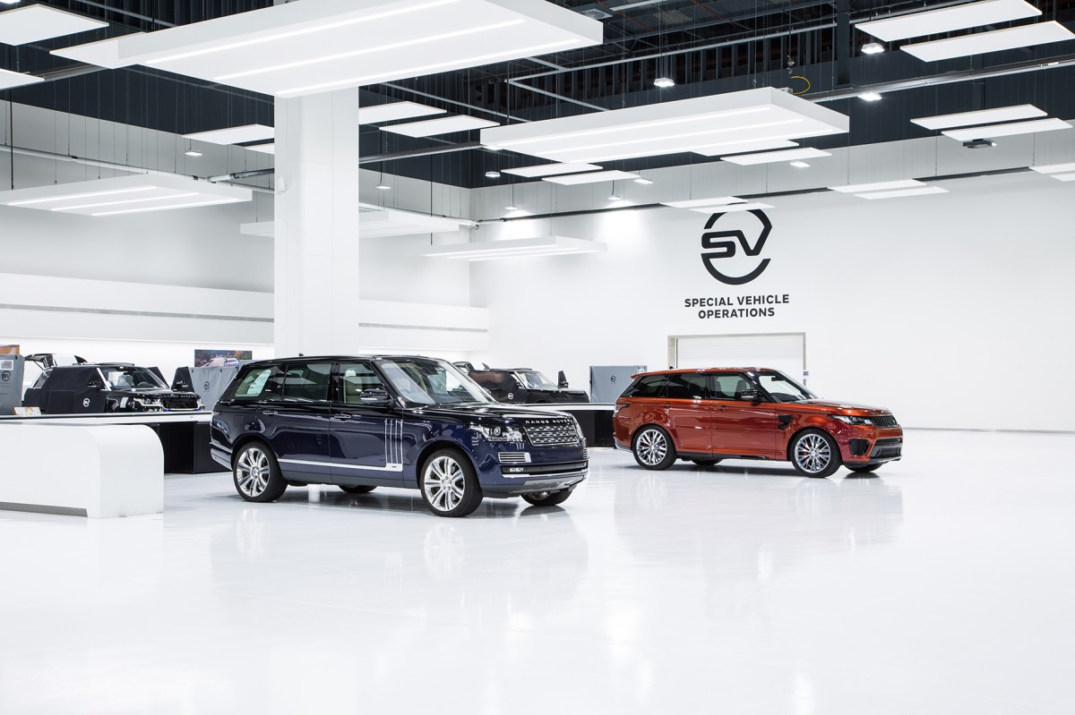 Jaguar Land Rover Special Vehicle Operations Technical Centre 06