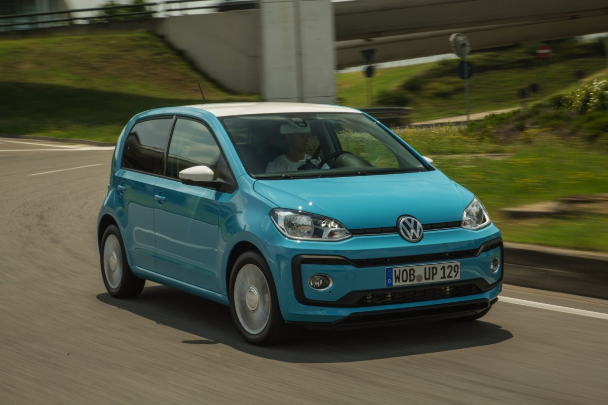Volkswagen Up take move high private lease 2017 10