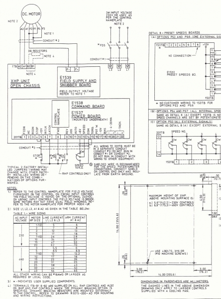 DC Drive BHP-100 Non Regenerative 10 HP