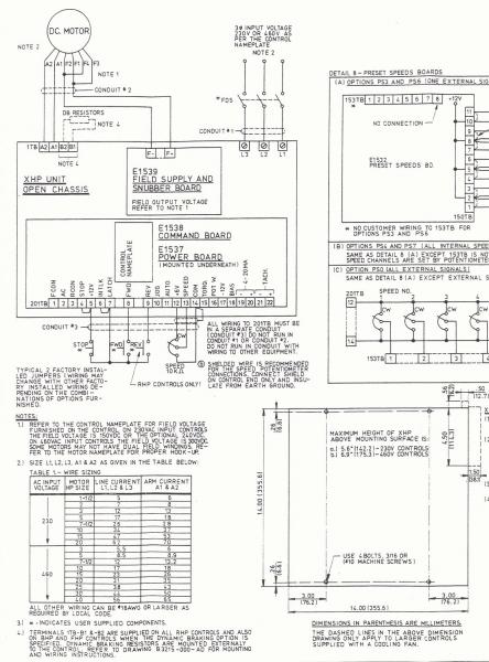 DC Drive BHP-51 Non Regenerative 5 HP