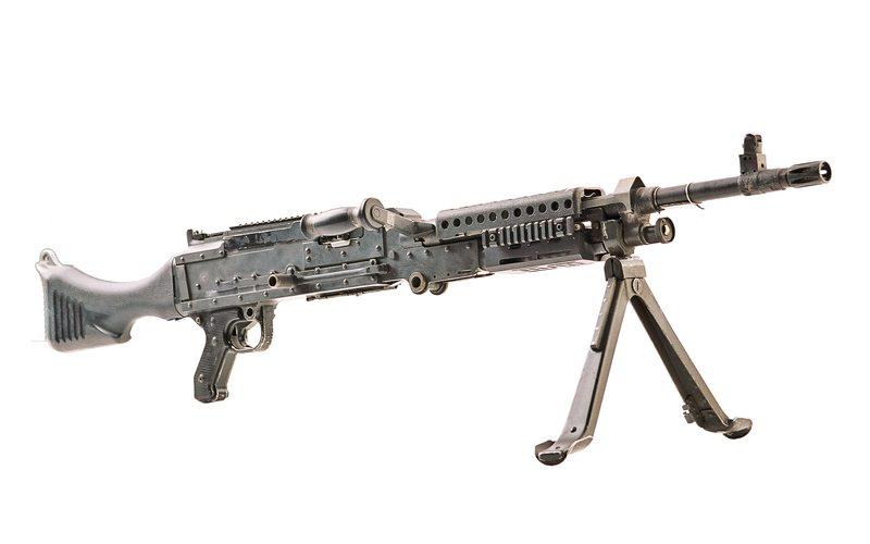 M60 E4 Machine Gun (7.62x51) - DriveTanks.com