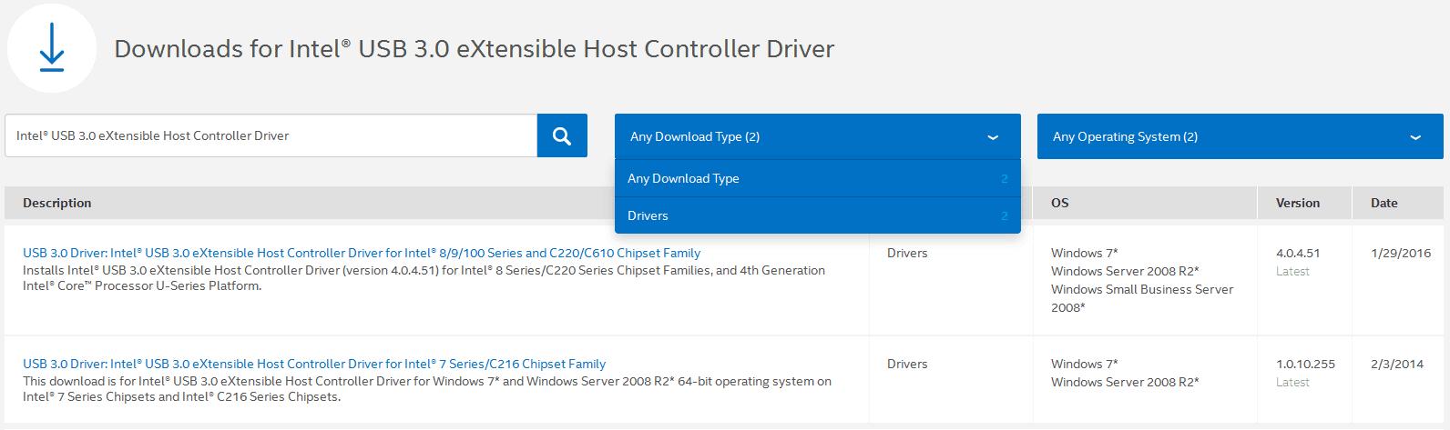 Intel Usb 30 Extensible Host Controller Driver Windows 10 - d0wnloadside