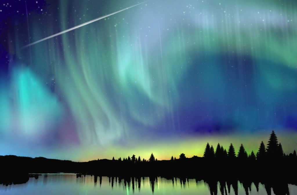 Best Place View Northern Lights Canada